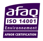 Certification Environnement ISO 14001